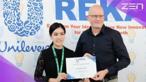 Zen Innovation เข้าร่วมงานนำเสนอผลงานในงาน Ureka Innovation Day 2019 ณ Unilever House ประเทศไทย